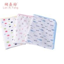 Baby-Kinder wiederverwendbare wasserdichte Matratzen-Bettwäsche-wickelende ändernde Matte waschbare Breathable Baumwolle 3 Farben, die Auflage ändern