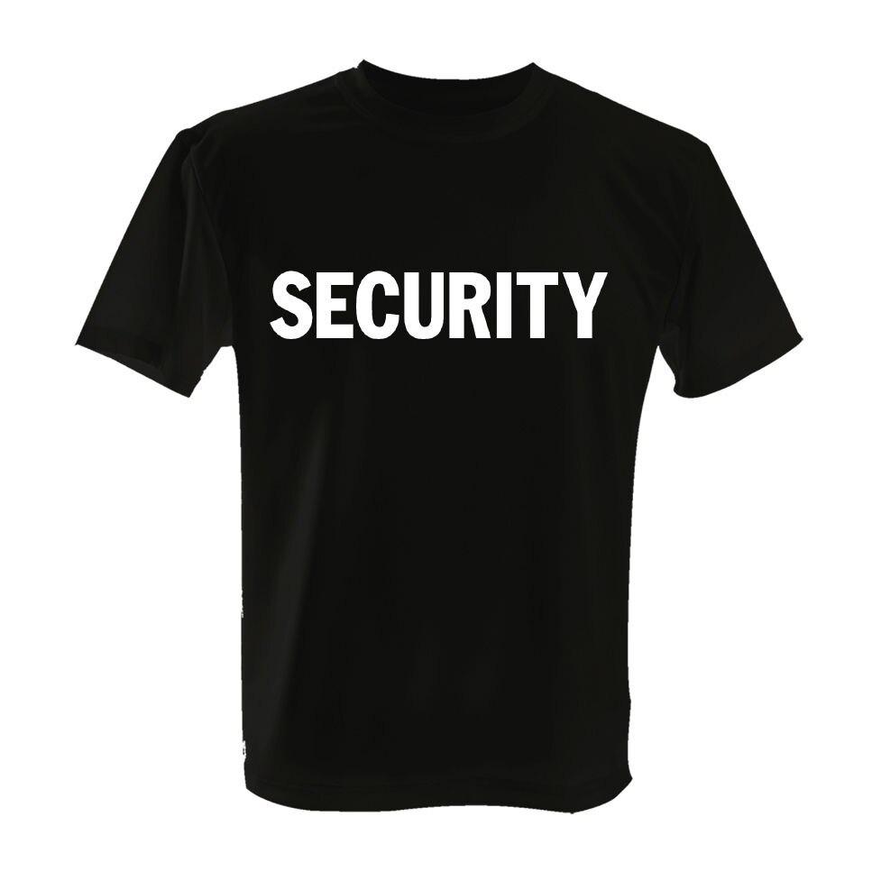 Black t shirt security - Black Security Shirt