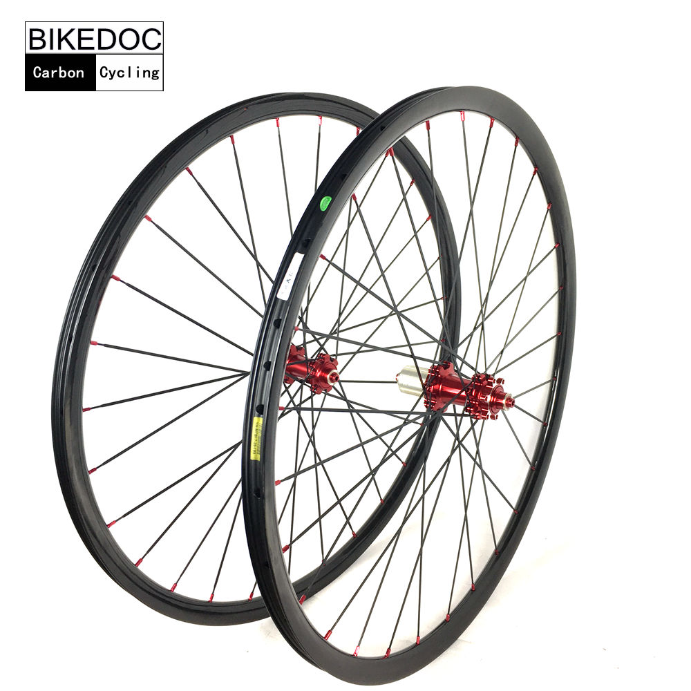 BIKEDOC Carbon Mtb Wheel 24mm*24mm XC Carbon Wheels 26er/27.5er/29er Bicycle Wheel For Mountain Bike Wheelset rear wheel hub for mazda 3 bk 2003 2008 bbm2 26 15xa bbm2 26 15xb bp4k 26 15xa bp4k 26 15xb bp4k 26 15xc bp4k 26 15xd