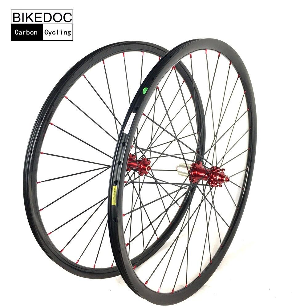Super High Quality 24mm 24mm XC MTB Carbon Rims Bicicleta Aro 29 Fast Delivery Roue Vtt