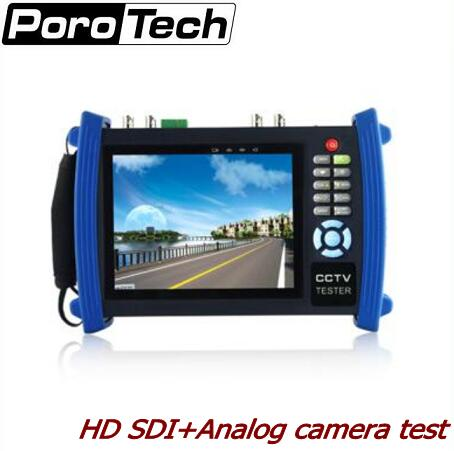 HVT-3600 7 inch LCD Screen CCTV Security Camera Tester Monitor IP scan cable scan HDMI input PoE test  цены