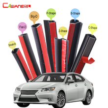 Cawanerl Car Rubber Seal Edging Trim Weatherstrip Sealing Seal Strip Kit For Lexus CT200h LS LS400 LS430 LS600hl LS460