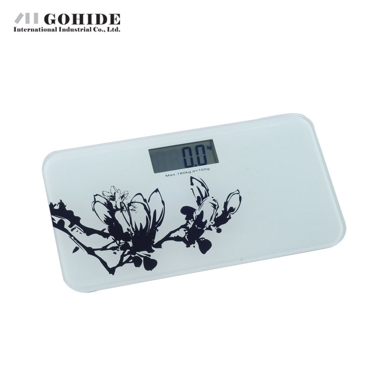 Gohide Electronic Human Body Health Weight White And Black Flower Style Digital Bathroom Scale Balance Human. Compare Prices on Balance Bathroom Scale  Online Shopping Buy Low