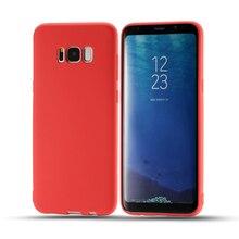 ELFTEAR Горячей Случае Телефон Для Samsung Galaxy S8 Плюс ТПУ Свежие Конфеты Pure Color Телефон Обложка Чехол