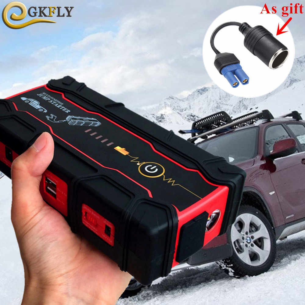 High Power 12V 800A Starting Device Portable 18000mAh Car Jump Starter Car Battery Booster Charger Petrol Diesel Car Power Bank