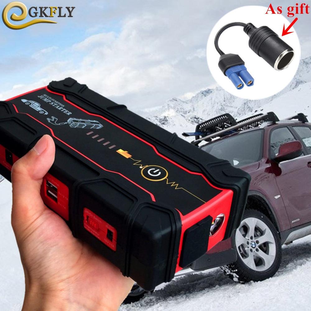 Puissance élevée 12 V 800A dispositif de démarrage Portable 18000 mAh voiture saut démarreur voiture batterie Booster chargeur essence Diesel voiture batterie externe