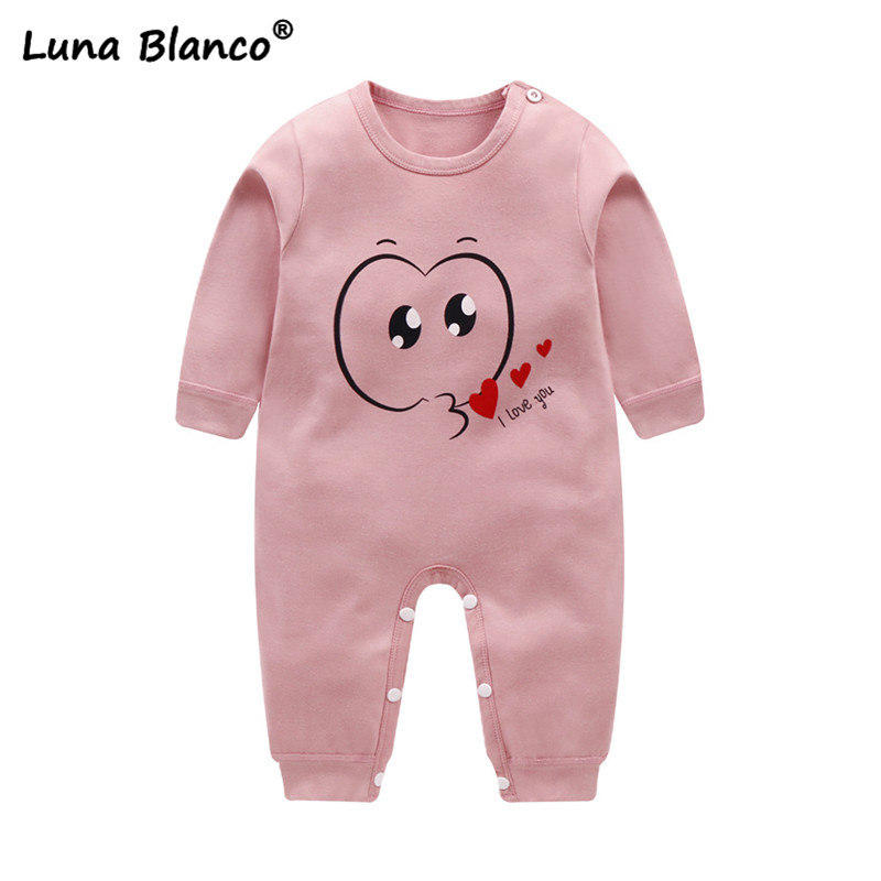 Newborn baby clothes baby   rompers   cotton baby boy girl clothes Soft Infant Clothing jumpsuits Long Sleeve Spring Autumn   romper