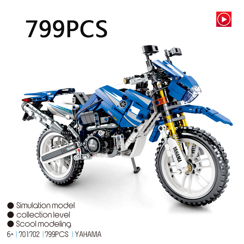 Legoed technic Lepins Technic motor Model kit Vehicle motorcycle Building Block Bricks playmobil Toy for children birthday gifts