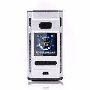 Image 4 - Original Laisimo F4 360W TC Box Mod OLED Display NI200 Ti SS Electronic Cigarette Vape Mod Powered by 2 OR 4 Batteries