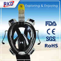 RKD Diving Masks Adult One piece Full Face Snorkeling Mask Underwater Scuba Swimming Goggles Professional Diving Mask Full Face