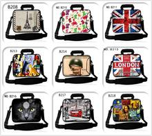 "Style Presents Free Customized LOGO Laptop computer Shoulder Bag Case 7.9″ 10″ 11″ 12″ 13.three"" 14″ 15.6″ 17.three"" Each Facet HD Printing No Fade"