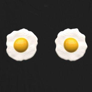 Women's Tee Womens Fried Eggs T Shirt - Originals Tees 100 % Cotton Let Sleeping