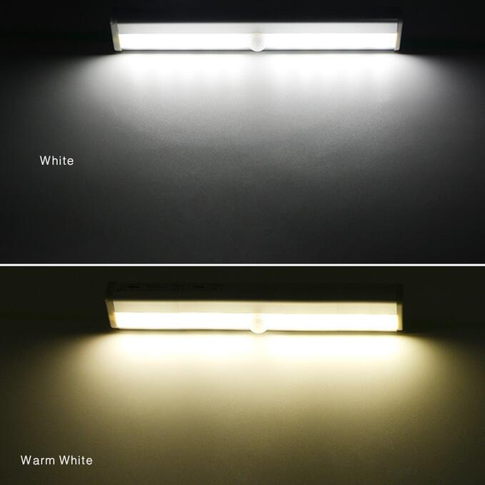 Portable PIR Motion Sensor Emergency LED light Rigid Strip Wall Night lamp Closet Cabinet Stairs Wardrobe Kitchen lights