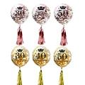 30th 40th 50th Glücklich Geburtstag Party Decor Konfetti Ballon Quaste Erwachsene Partei Ballon Jahrestag 30 50 Geburtstag Lieferungen