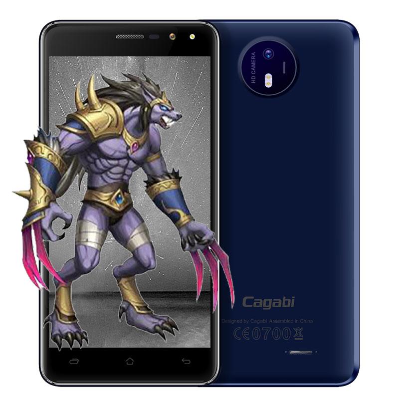 Цена за Оригинал Cagabi Один 3 Г Смартфон 5.0 Дюймов IPS Экран Android 6.0 MTK6580A 1.3 ГГц Quad Core 1 ГБ + 8 ГБ Двойной Вспышкой Мобильного Телефона