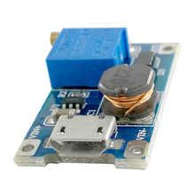 MCIGICM 100pcs dc-dc step up buck 2A boost module LM2577 DC-DC boost module wide input voltage 2 / 24V liter 5/9/12 / 28V