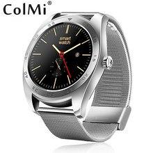 Colmi smart watch vs303 mtk2502c pulsómetro notificaciones de sincronización soporte ios android teléfono pk k88h vs20 plus smartwatch