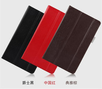Luxury Genuiue Leather Mangetic Closure Smart Sleep Stand Protective Cover Case For Huawei MediaPad M3 BTV