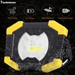 Portable Work Spotlignt Built-