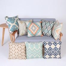 Geométrica almohada cubierta decorativa cojines para silla almofadas párr funda de cojín de sofá cojines cojín cojines decoración del hogar