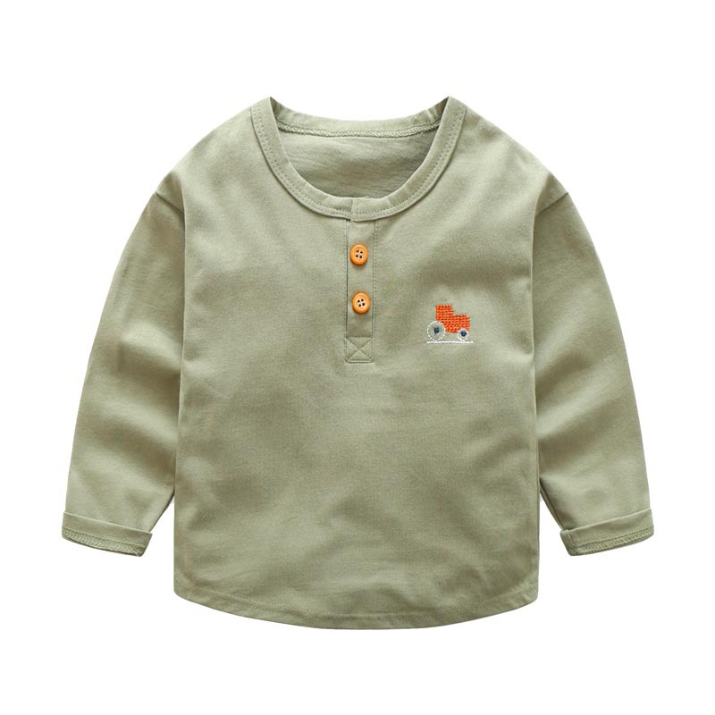 7fd95ef1 2017 spring new boys Cotton T shirt Kids Boys Clothing Full Sleeve Baby  Boys T Shirts Kids Tees Cartoon Children Sweatshirts-in T-Shirts from  Mother & ...