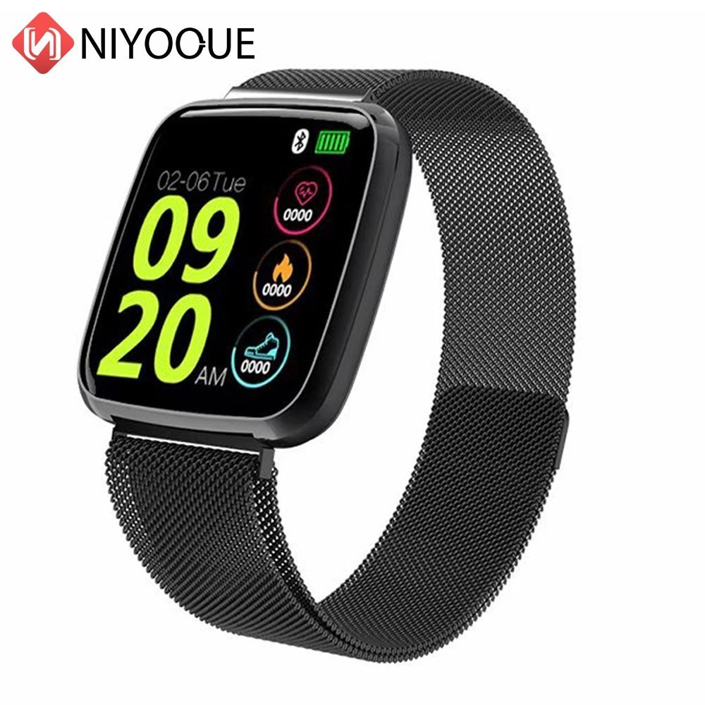 S7 Fitness Smart Watch Heart Rate Blood Pressure Monitor Call Message App News Reminder Alarm Waterproof Women Men SmartWatch image