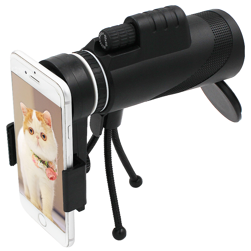 Kogngu 40X Zoom Lens for Smartphone Telescope for Mobile Phone Telescopio Smart