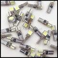 T5 5050 SMD T5 Авто СВЕТОДИОДНЫЕ Лампы Клин Основание для T5 Панели индикатор Датчик света лампы Canbus ошибка бесплатный авто огни