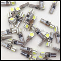 T5 5050 SMD T5 Car Auto LED Bulbs Wedge Base for T5 Dashboards indicator light Gauge bulbs Canbus error free Car auto lights
