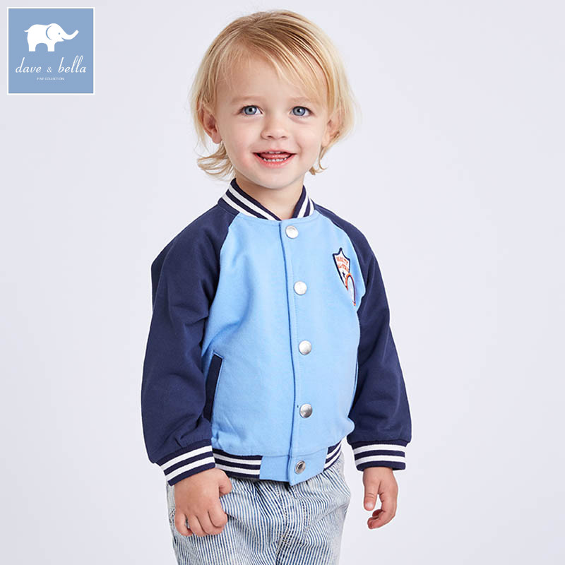 DBA6401 dave bella spring infant baby boys fashion coat kids toddler children hight quality clothes dbm7642 dave bella summer newborn boys fashion costumes infant toddler jumpsuits children lion print clothes baby romper
