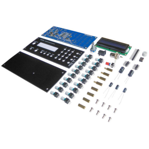 Mini DDS Digital Synthesis Function Signal Generator DIY Kit with Panel Sine Square Sawtooth Triangle Wave generador de funcione