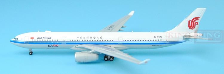 Spike: Wings XX4952 JC China International Aviation A330 fiftieth 1:400 A330-300 commercial jetliners plane model hobby