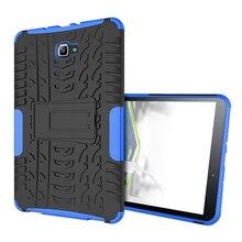 Heavy Duty Armor Caja de la Tableta Para Samsung Galaxy Tab A6 10.1 T585 T580 SM-T585 T580N TPU + PC Soporte de Protección de Shell 10.1 pulgadas