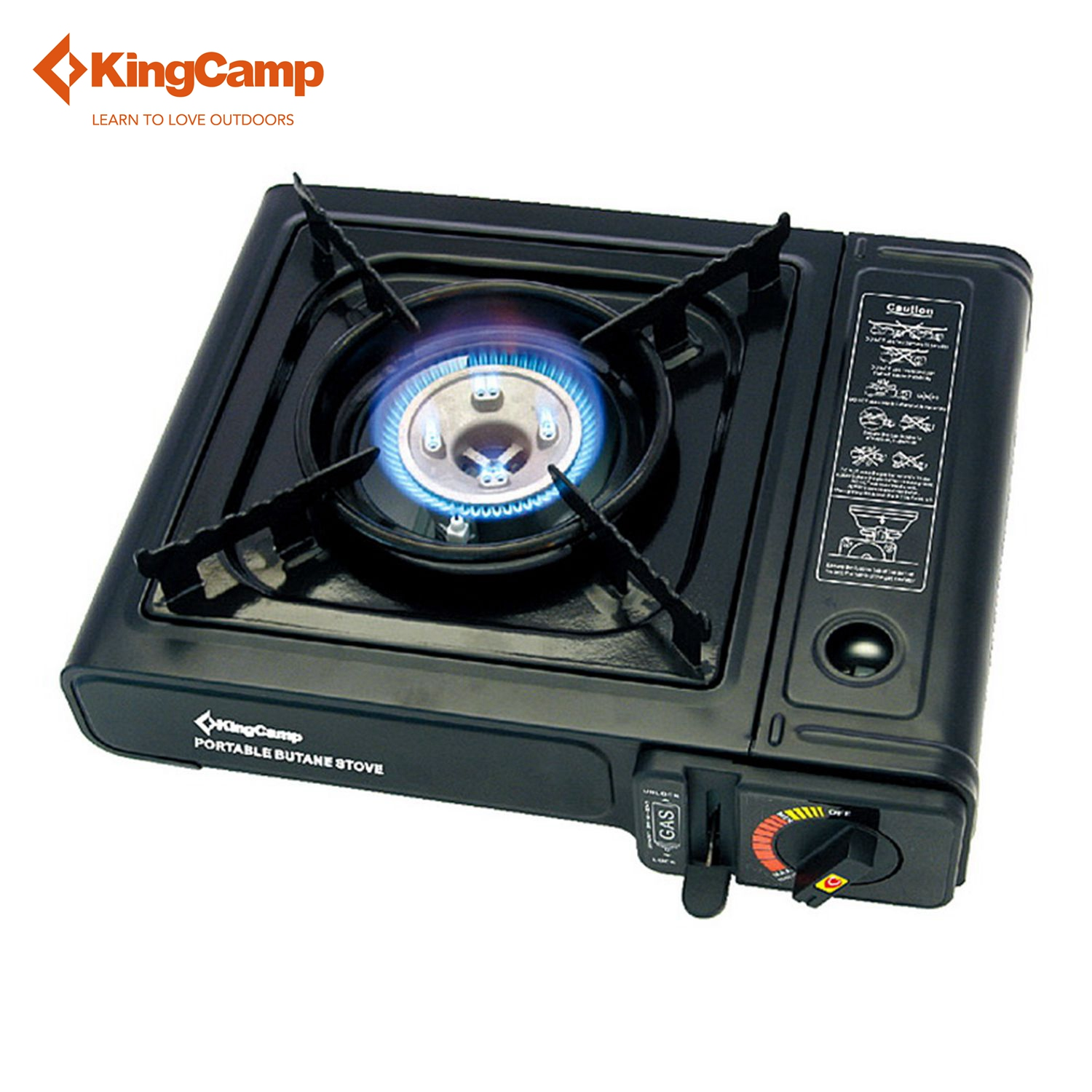 kingcamp 2016 outdoor portable gas stove camping hiking. Black Bedroom Furniture Sets. Home Design Ideas