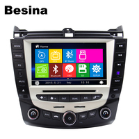 Besina 7 Inch Car DVD Player GPS Bluetooth For HONDA Accord Can Bus Steering Wheel Control