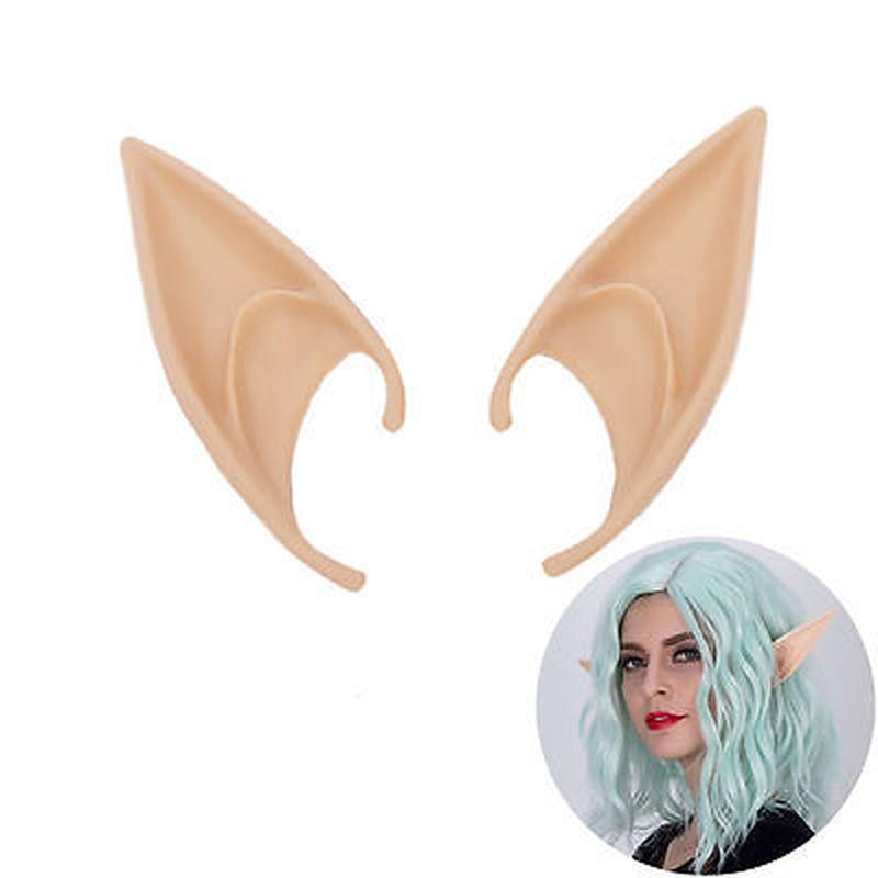 Anime Elf Ears Fairy Halloween Wizard Sorcerer Vampire Hobbits Cosplay Accessories Headwear Elven Ears Gifts Halloween Costume