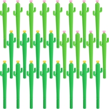 Cactus Gel Pens Novelty Green Plants Neutral Cute for School Supplies Writing Gifts Stationery Kawaii