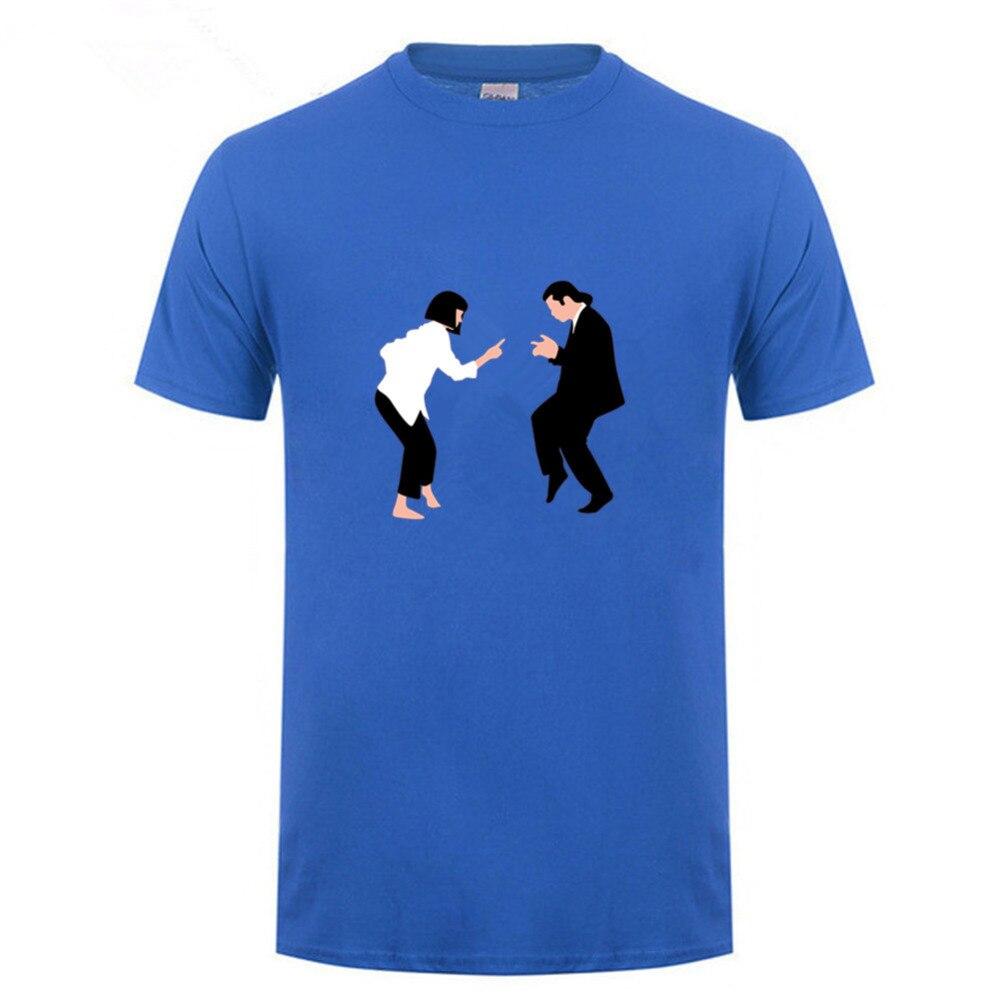 Nueva De Estampado 100Algodón Para Verano Cuello Y Ropa 2018 Camisetas Redondo Camiseta Hombre QxhCrsdt