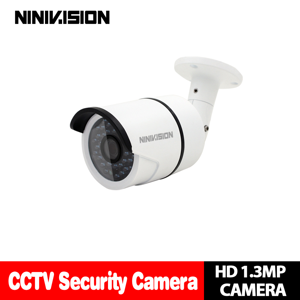 Hot AHD camera 960P 1.3MP CCD IMX238 Chip High 36pcs leds waterproof clear night vision IR filter 1/3 serveillance camera Sets