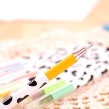 12 colored Milky gel pen set , Diamond Milk Pen