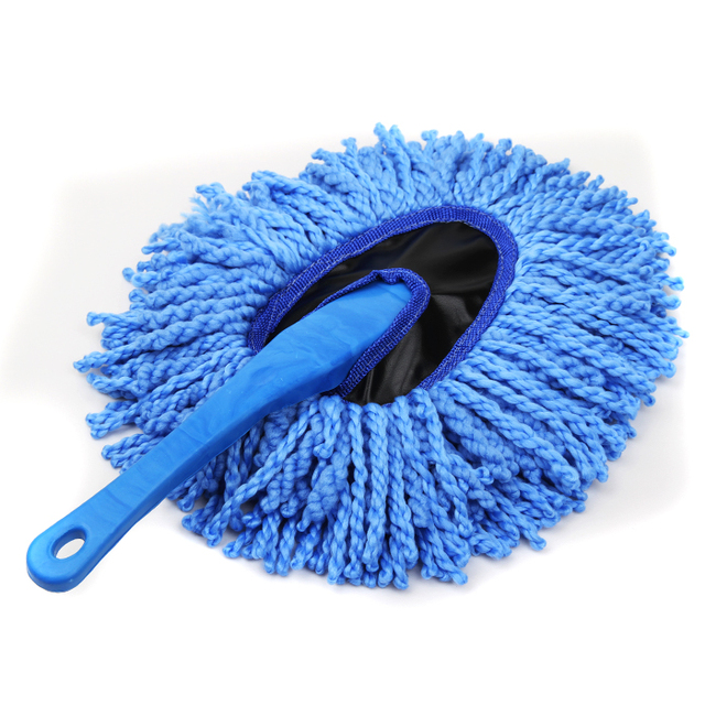Car brush wax drag retractable  car mop duster car cleaning products  free shipping