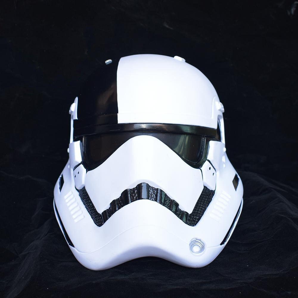 Star Wars The Last Jedi Cosplay Helmet First Order Stormtrooper Helmet Mask Superhero Theme Party Cosplay Costume Supply
