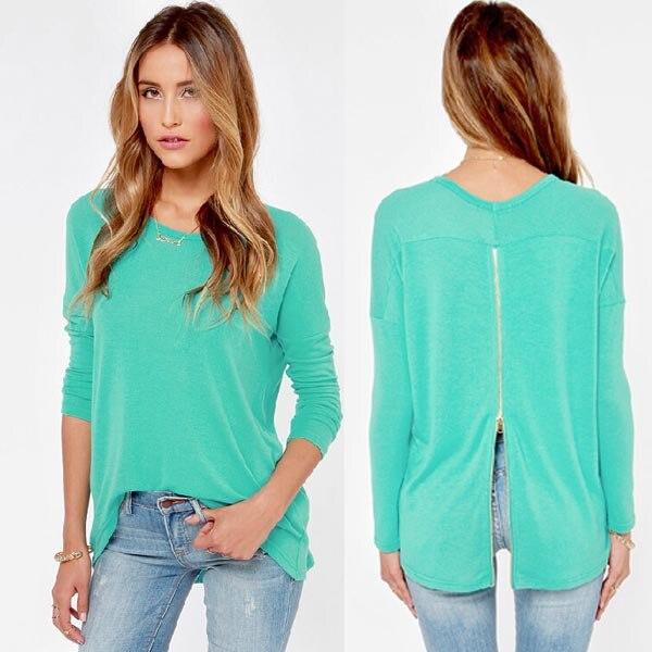 Casual simple Blouse for Women Blouses cute Shirt Women Plus Siza ...