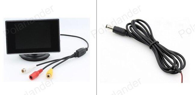 KOHLENSTOFF-TET auto monitor 3,5 zoll bildschirm für rückfahrkamera backup einparkhilfe digital color kleine display kostenloser versand
