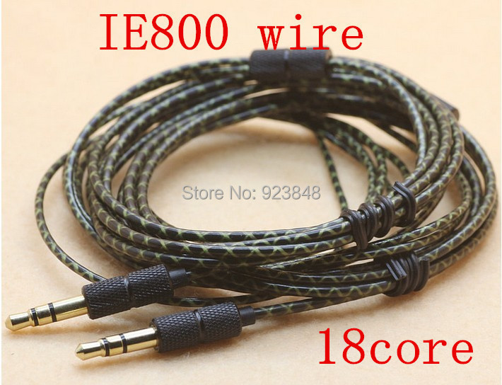 IE800 wire DIY earphone cable Silver plated wire Heart of Ocean Wire
