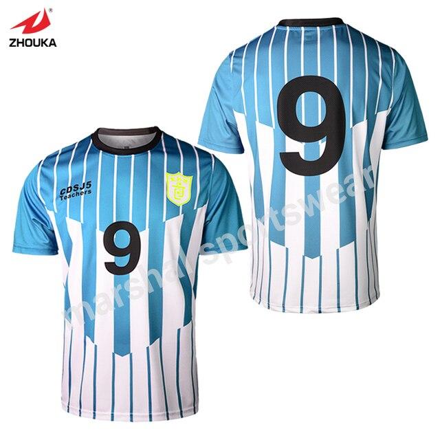 a61d093423087 Wholdsale precio OEM equipo jersey sublimación personalizado Atlético  camisetas de cualquier diseño de color envío gratis