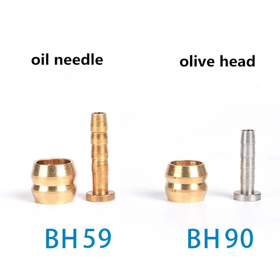 Olive Head Olivary Oil Needle BH90 BH59 Tubing Cut Off The Oil Brake Parts For Shimano