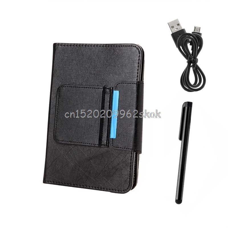 7-10inch Black PU Leather Detachable Wireless <font><b>Bluetooth</b></font> <font><b>Keyboard</b></font> With <font><b>Tablet</b></font> Case Cover Stand+Give <font><b>Tablets</b></font> Pen #H029#
