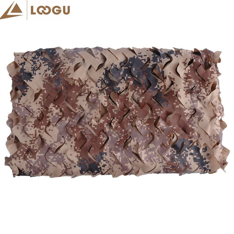 1.5*5M Military Camouflage Net Sun Shelter Filet Camouflage Militaire Camouflage Netting Sun UV Digital Military Camouflage Net