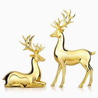 European Style Love Deers Furnishing Articles Living Room Wine Ark Adornment Family Individual Furnishing Wedding Present Home